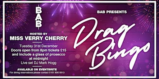 New Year's Eve Drag Bingo