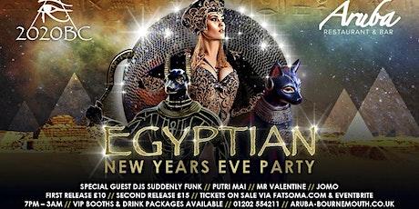 2020 BC Egyptian NYE Aruba tickets