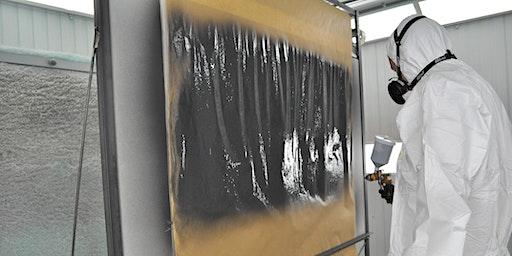Workshop: basics of spray painting