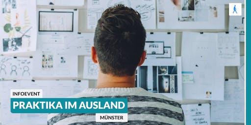 Ab ins Ausland: Infoevent zu Praktika im Ausland | Münster