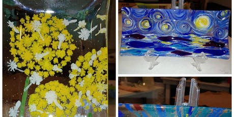 Half Day: Painting on Glass (March) with Kathy Oda tickets