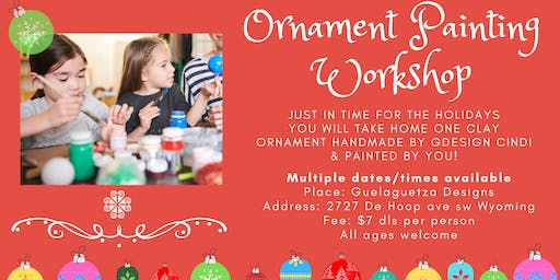 Ornament Painting Workshop