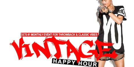 VINTAGE 4TH FRIDAYS HAPPY HOUR @ THE BRIXTON tickets