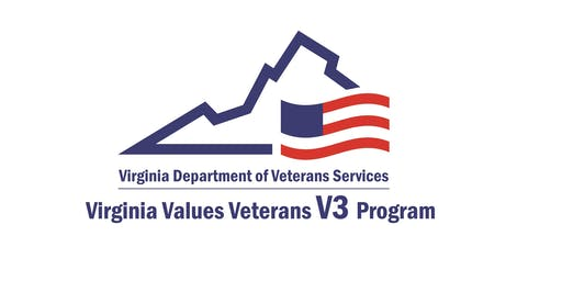 Virginia Values Veterans (V3) Employer Training Event