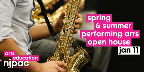 Open House! Spring & Summer Performing Arts at NJPAC tickets