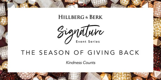 Hillberg & Berk Signature Event Series | The Season of Giving Back