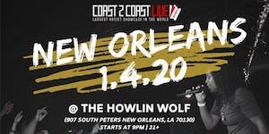 Coast 2 Coast LIVE Artist Showcase New Orleans - $50K...