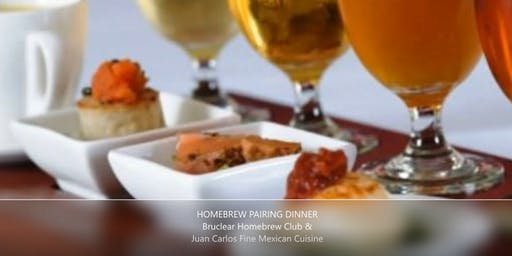 Bruclear Homebrew Pairing Dinner - Registration Required for All Attendees