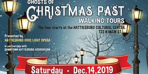 HCLO presents The Ghosts of Christmas Past Walking Tours