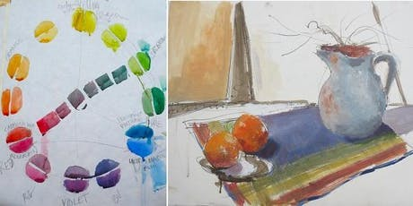 Half Day: Color Theory, 6 Colors to Perfect Your Color Mixing with Alex Sharma tickets