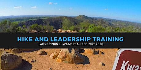 LADYDRINKS SAN DIEGO: HIKE KWAAY PEAK AND LEADERSHIP TRAINING tickets