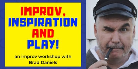 Improv, Inspiration and Play! tickets