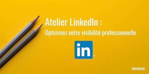 Atelier LinkedIn : optimisez votre visibilité professionnelle