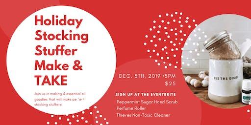 Holiday Stocking Stuffer Make & Take