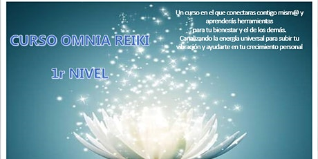 Curso Omnia Reiki 1r nivel tickets