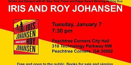 #1 New York Times Writing Duo Iris and Roy Johansen tickets