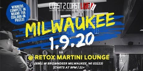 Coast 2 Coast LIVE Artist Showcase Milwaukee, WI - $50K Grand Prize tickets