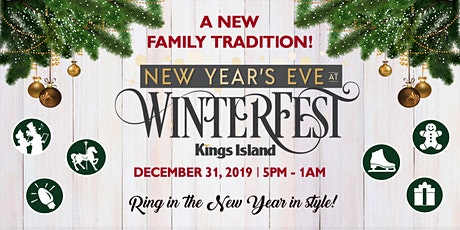 New Year's Eve at Kings Island's WinterFest tickets