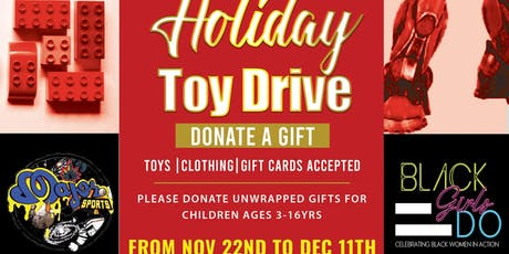 Living Leah and  Major's Couture  Store Toy Drive tickets