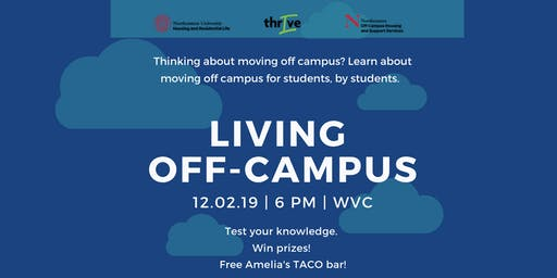 Learn what you need to know if you plan on moving off campus!