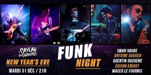 New Year's Eve - Concert et Dj set Funk - Funk Night