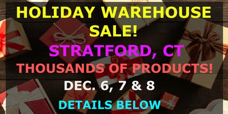 Holiday Warehouse Sale tickets