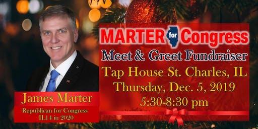 James Marter Republican for Congress IL14 Meet & Greet Evening Fundraiser
