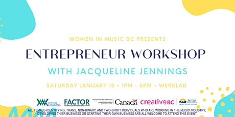 WIM-BC Entrepreneur Workshop With Jacquelin Jennings tickets