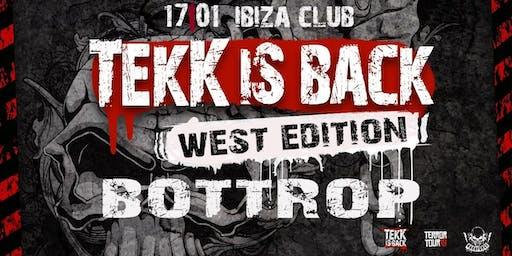 Tekk is Back - West Edition