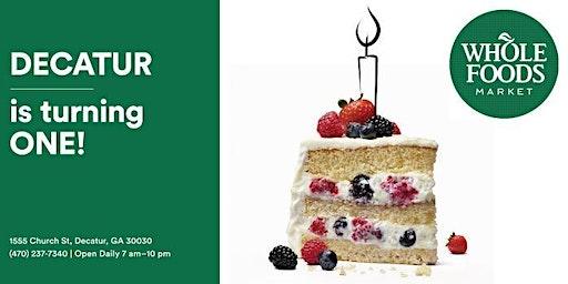 Whole Foods Market 365 Decatur 1st  Anniversary Celebration