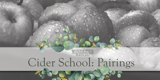 January Cider School: Pairings