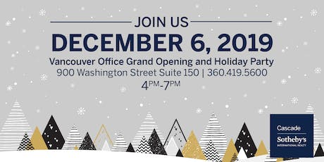 Vancouver Office Grand Opening & Holiday Party tickets