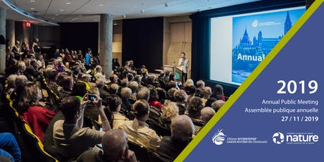 2019 Annual Public Meeting // Assemblée publique annuelle 2019 tickets