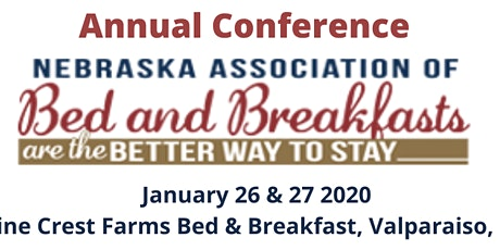 Nebraska Association of Bed & Breakfasts Annual Conference tickets