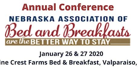 Nebraska Association of Bed & Breakfasts Annual Conference tickets