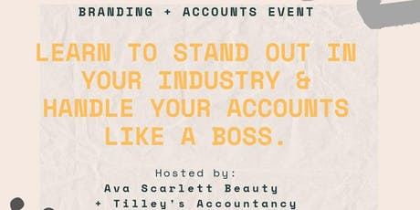 Copy of Branding and Accounts tickets