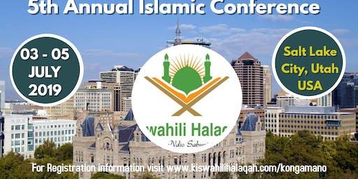 5th Annual Islamic Conference - Salt Lake City, Utah 2020