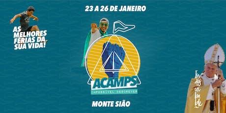 Acampamento de Jovens Shalom - Missão Ponta Grossa - SERVIÇO ingressos