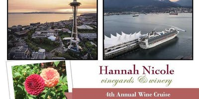 7 Night Northwest Cruise with Hannah Nicole Winery