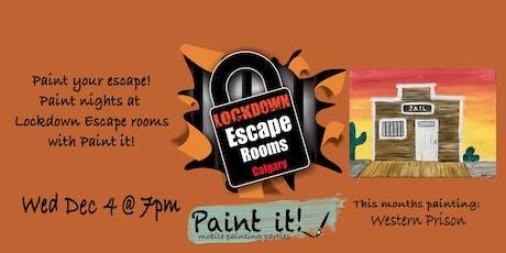Paint your escape! tickets
