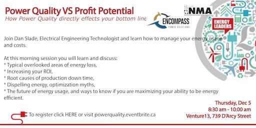 Power Quality VS Profit Potential Workshop