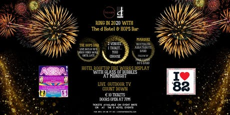 Ring in 2020 with the d Hotel and The Hops Bar tickets
