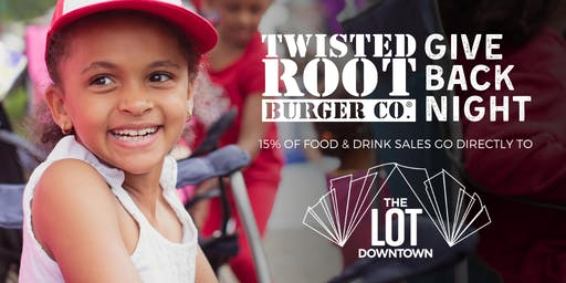 #GivingTuesday at Twisted Root Burger Co.