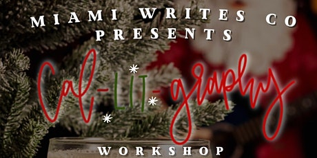 """Miami Writes Co. presents Ca-""""LIT""""-graphy Workshop at Miracle in Miami tickets"""