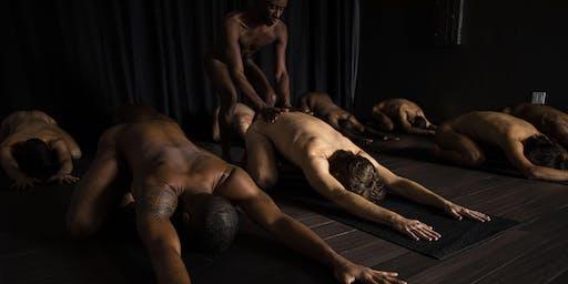 Naked Men's Yoga+Tantra Paris with Brandon Anthony