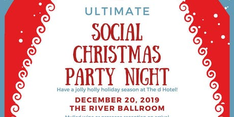 Social Christmas Party Night at the d Hotel tickets