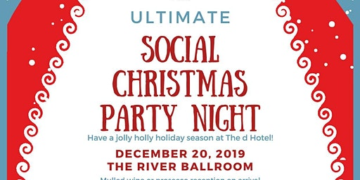 Social Christmas Party Night at the d Hotel