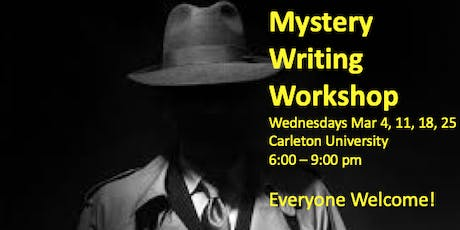 Mystery Writing Workshop tickets