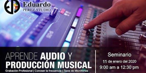 Seminario: Aprende audio y producción musical