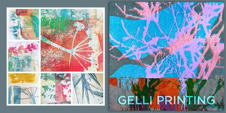 Introduction to Gelli Plate Printing 2020 tickets